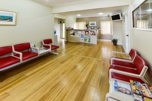 Seaholme Dental - Covid-19 Social Distancing in Spacious Waiting Area